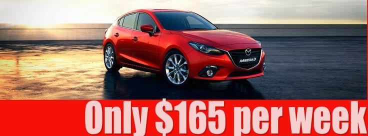 New Mazda 3, great car.
