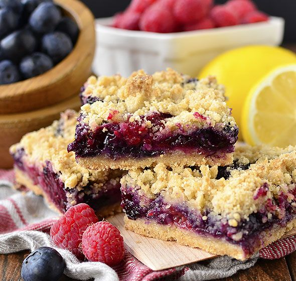Triple Berry Crumb Bars Is A Sweet And Easy Gluten Free Dessert