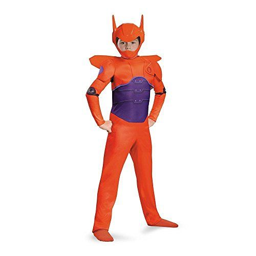 BIG HERO 6 Red Baymax Classic Boys Child Kids Disney Costume w Wings S >>> Check out the image by visiting the link.
