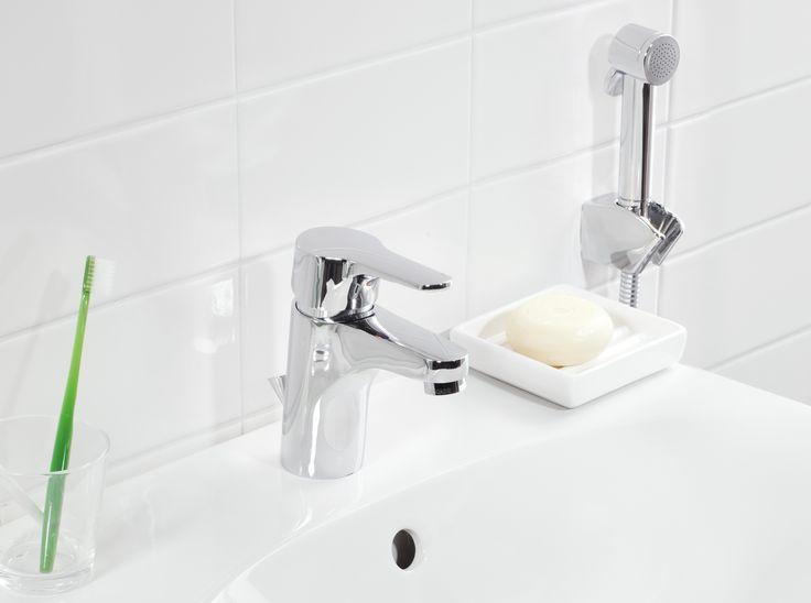 Tvättställsblandare från Nautic med Eco-start.