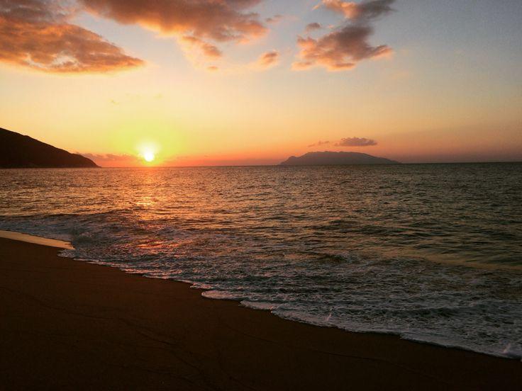 yakushima sunset!