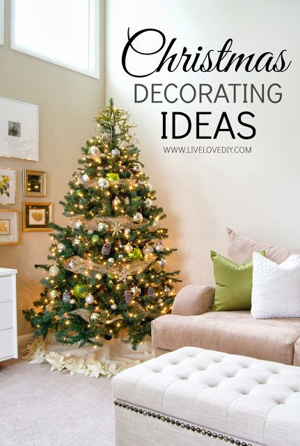 Christmas decorating ideas that you can make yourself for Christmas decorations to make yourself
