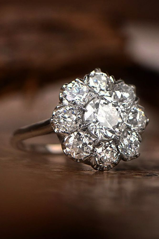 21 Gorgeous And Elegant Floral Engagement Rings ❤️ floral engagement rings h…