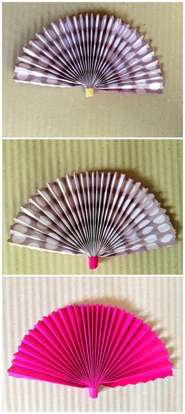 Come fare un ventaglio fai da te #diy #craft