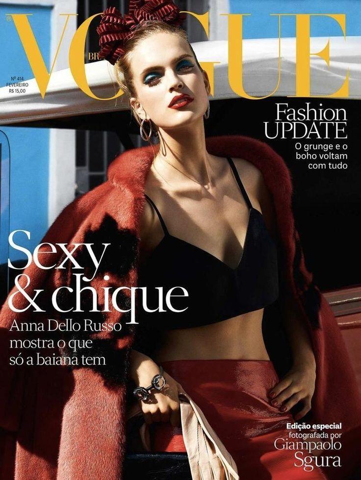 Mirte Maas for Vogue Brasil - Vogue Brasil February 2013 Covers