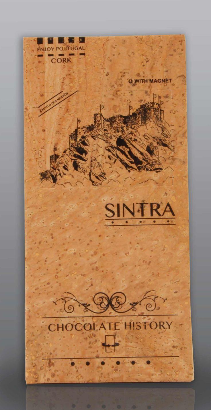 Sintra | Castelo dos Mouros  | Chocolate Negro 48% Cacau 125 g
