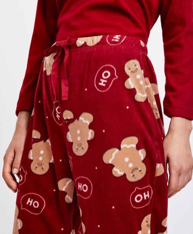 Christmas Gingerbread Man Trousers 1 Pijamas Navideños Ropa Sueteres Navideños