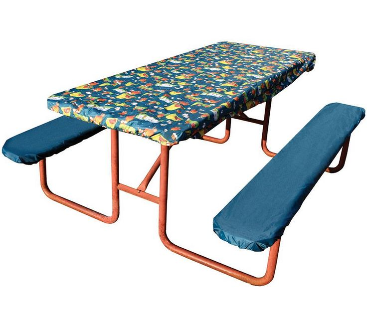 Campfire Picnic Table Cover U0026 Pads