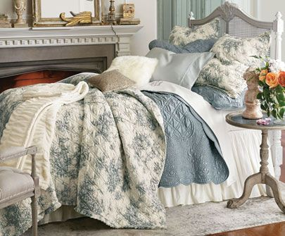 Bedding Ensembles, Bedding Sets, Luxury Bedding | Soft Surroundings - check out this website!