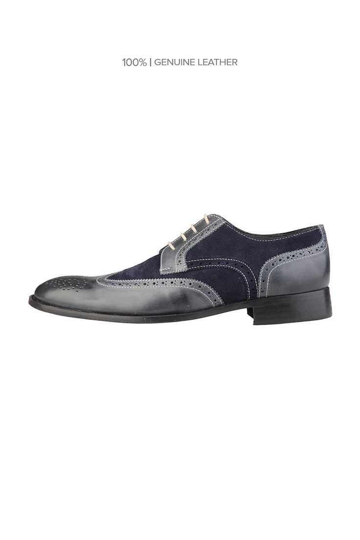 Rochas Lace Up Dress Shoes In Blu