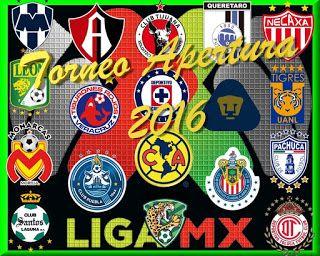 Blog de palma2mex : Liga MX – Torneo Apertura 2016 – Juegos y Resultad...