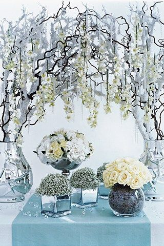 Зимняя свадьба: идеи для свадьбы зимой - zimniy-svadebniy-decor