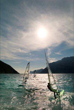 Windsurfin al Lago di Garda!