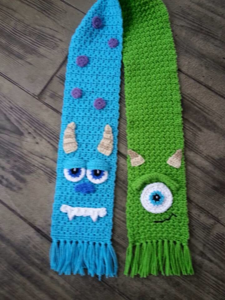 Monsters, Inc scarf