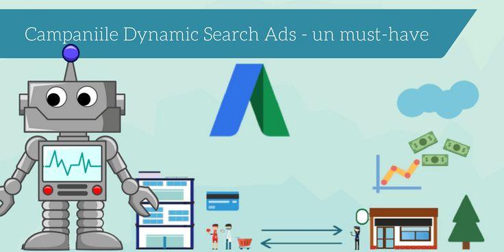 O campanie dinamica, numita pe scurt DSA de la Dynamic Search Ads este o campanie care iti va creste in ritm alert traficul si vanzarile. Afla mai multe!