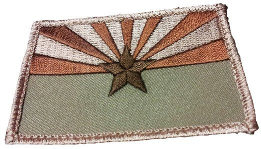 state flag patches velcro