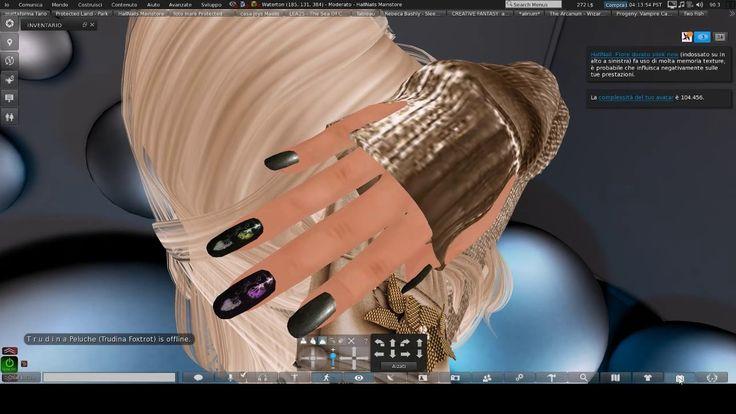 HallNails tutorial hud nails