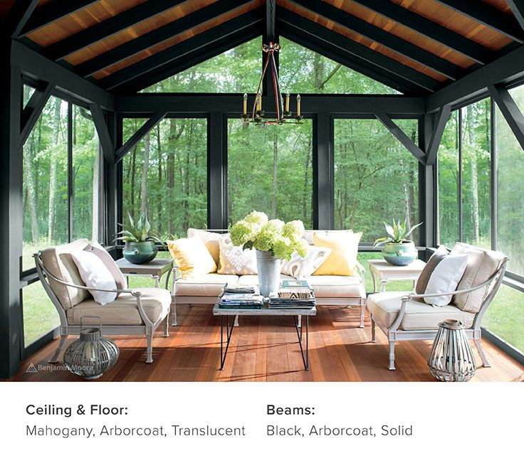 Decks Stain And Paint Ideas Inspiration Benjamin Moore House With Porch Screened Porch Designs Porch Design