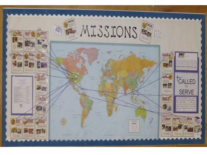 LWML Missions Bulletin Board