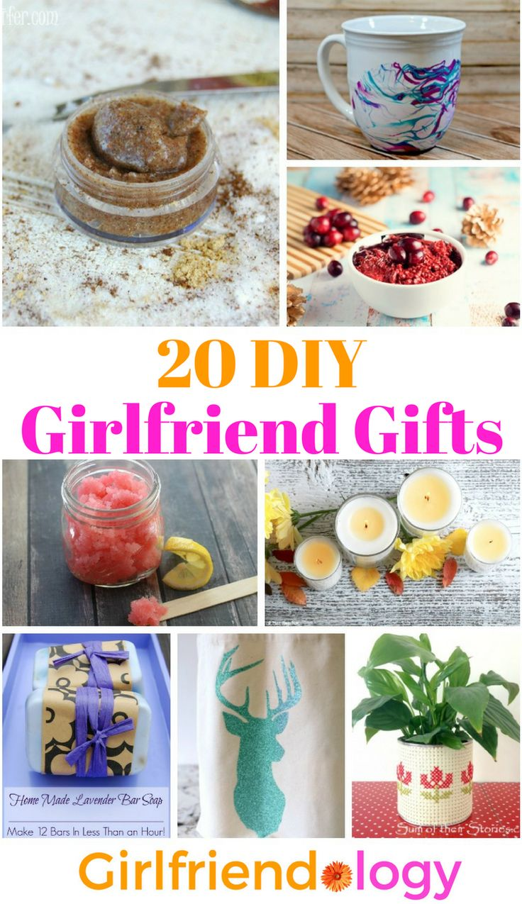 20 DIY Girlfriend Gifts
