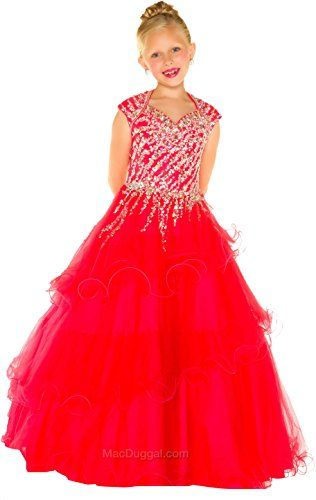 Mac Duggals 48605S Spring 2016 Collection Kids Dress