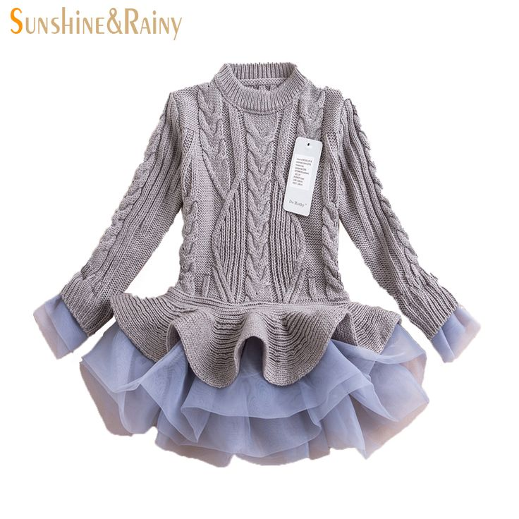 Cheap girls dresses free shipping, Buy Quality dresses for girls directly from China girls vintage dresses Suppliers:  2015 elegant korean kids sweater dresses children princess dress baby girls for party long sleeve autumn spring costumn