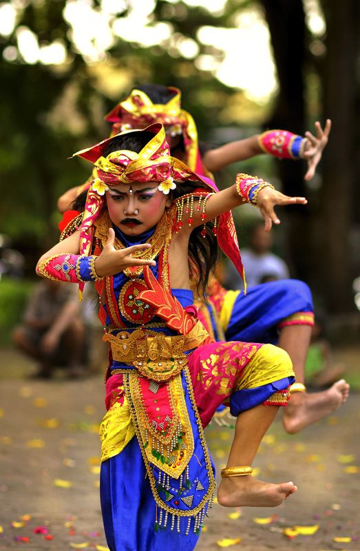 Balinese Dancers - Sanur, Bali