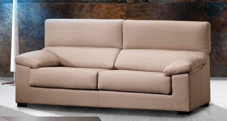 SOFÁ ALEX (FONDO 80). Sofá modular con respaldo reclinable y asiento deslizante. Todos los cojines son desenfundables por cremallera. Fondo reducido de 80 cm. Rinconera visco opciones. Arcón extraíble en chaise lounge opcional.