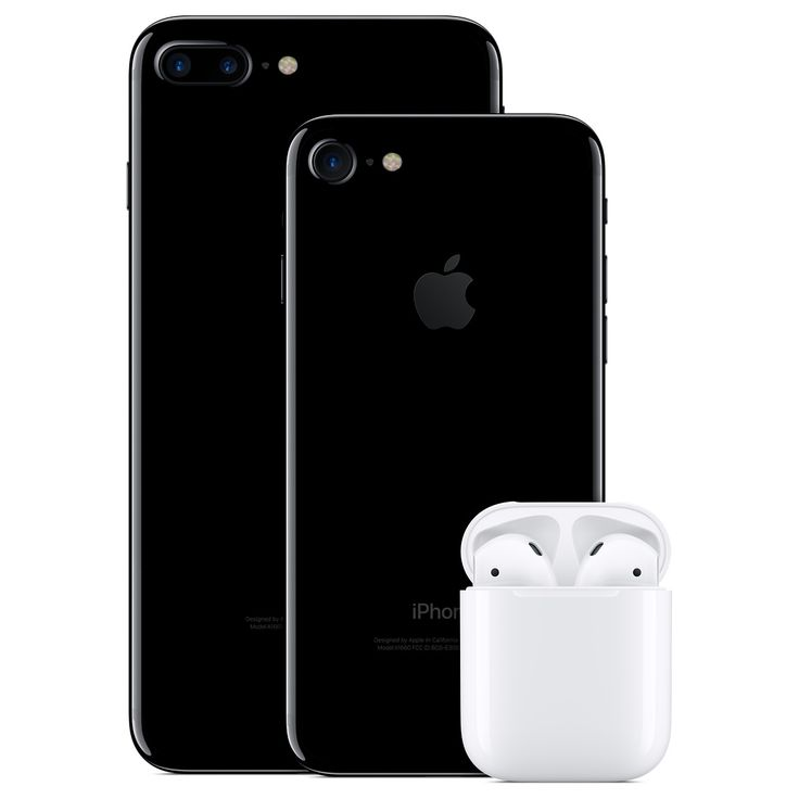 Apple IPhone7, IPhone7 Plus and Air Pods.