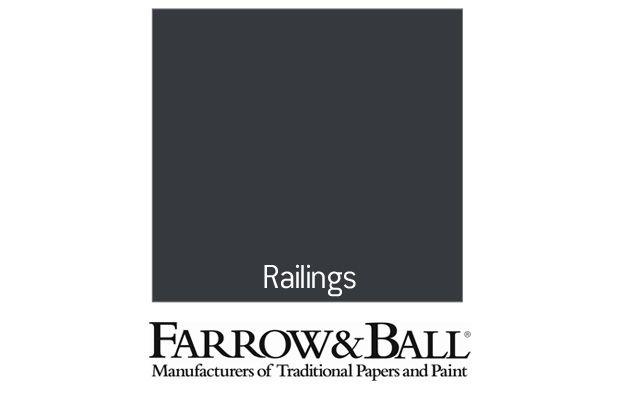 Best Farrow Ball Eco Exterior Eggshell Paint No 31 Railings 400 x 300