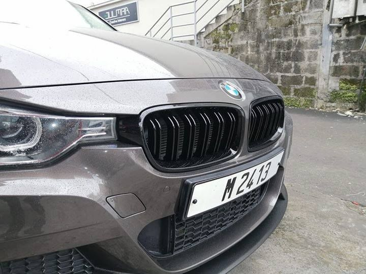 Glossy Grill On Bmw F30 Call Whatapps On 52 51 54 00 Visit Our Website Www Protuning Mu And Have Next Day Delivery All Around Mauritius Bmw Tune Sports Car