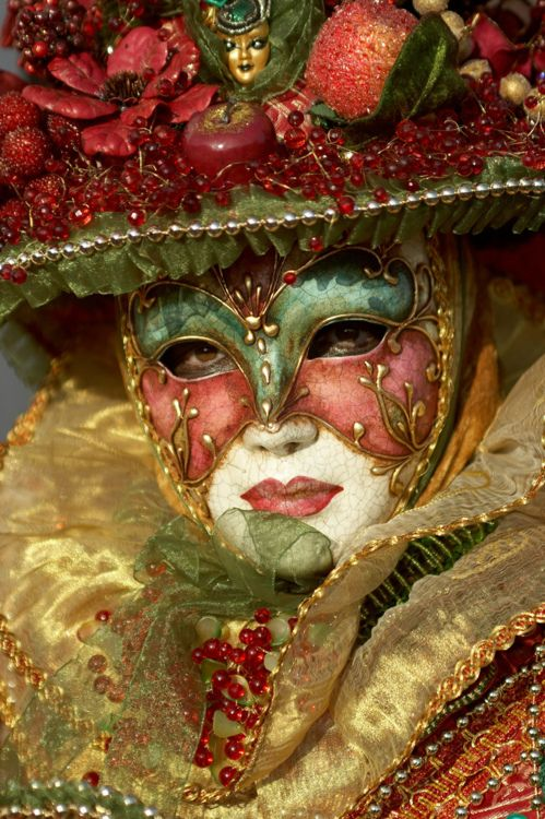 This has NOTHING to do with Masks and Shadows by Stephanie Burgis, but it is beautiful! Venetian Carnival Mask...