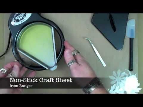 Tim Holtz Shrink Plastic tutorial / AWESOME!!!