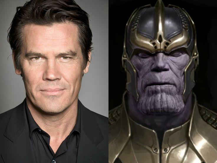 Josh Brolin Cast As Thanos Josh Brolin Marvel Characters Galaxy Movie