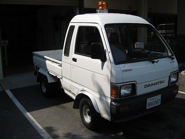 Daihatsu Hijet Jumbo (extended Cab) Mini Truck / Kei Ruck
