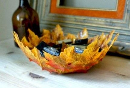Beautiful Fall Leaf Bowl