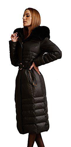 queenshiny Neu Damen Lange Daunenjacke Mantel Jacke mit Fuchs Pelz Kragen mit Kapuze unterhalb der Knie Mode Winter Schwarz 38 Queenshiny http://www.amazon.de/dp/B00ZOWLH8S/ref=cm_sw_r_pi_dp_fFJLwb0P46PGQ