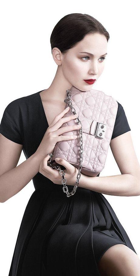 Jennifer Laurence - Miss Dior Spring 2013 ad