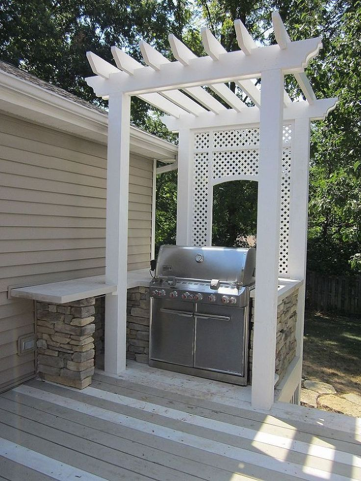 1000 ideas about grill area on pinterest outdoor grill. Black Bedroom Furniture Sets. Home Design Ideas