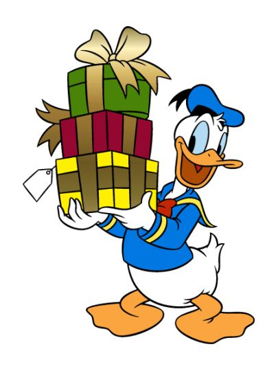 Donald Duck (full name first revealed as Donald Fauntleroy Duck in Donald Gets Drafted) is a character created by Walt Disney.