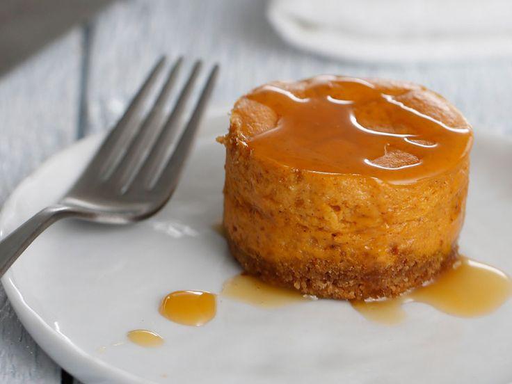 Mini Pumpkin Cheesecakes | Silk
