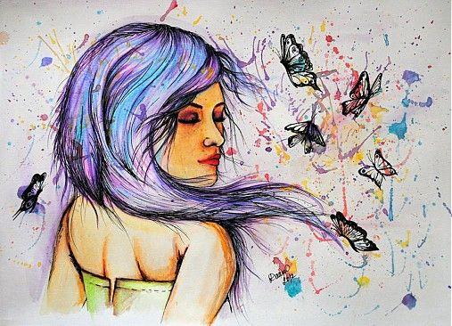 PetiArt / Butterfly lady