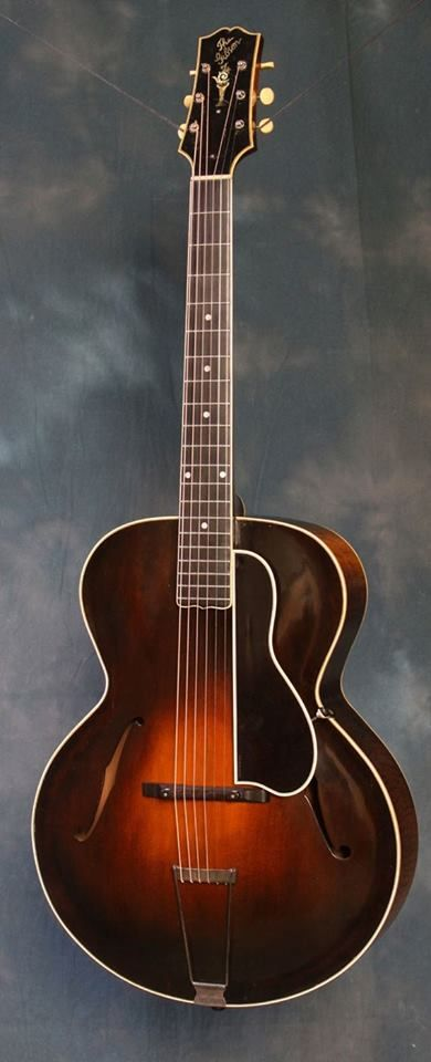 "Gibson L5 archtop guitar, last of the famous. ""5 series"" designed by Lloyd Loar (along with F5 and A5 mandolins, H5 mandola, K5 mandocello"