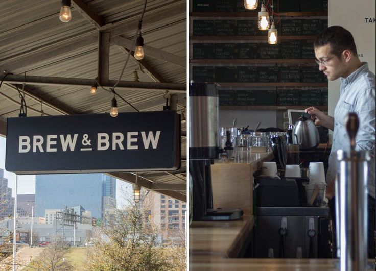 Wright bros brew and brew in Austin, Texas. Great shop design