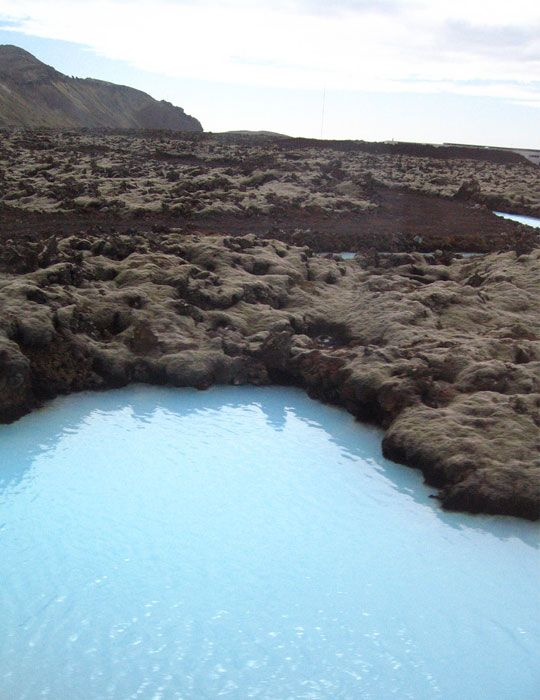 Aguas termales de la Laguna Azul, Islandia
