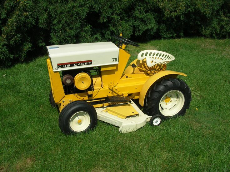 Ih Garden Tractors : Best cub cadet lawn tractors images on pinterest