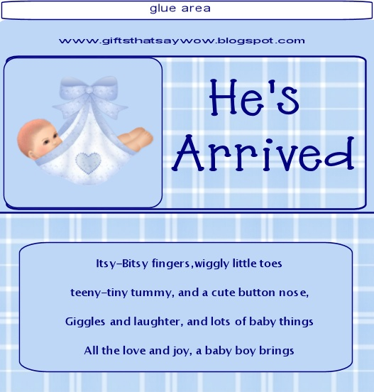 candy bar wrappers template for baby shower printable free - gifts that say wow free printable baby boy candy wrapper