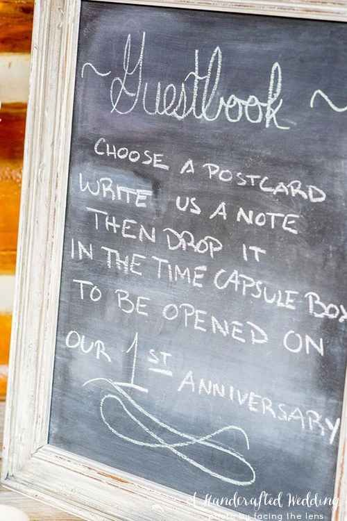 For Time Travelers | 12 Honestly Brilliant Wedding Guestbook Ideas