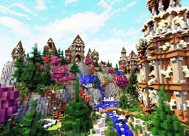 Downstream Minecraft World Save