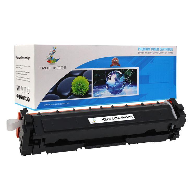 TRUE IMAGE HECF413A-M410A Magenta Toner Replaces HP CF413A